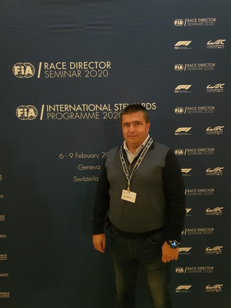 2020 FIA Race Directors Seminar Antonio Medeiros