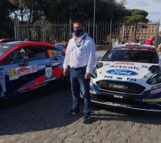 Antonio Medeiros at Rally di Roma Capitale